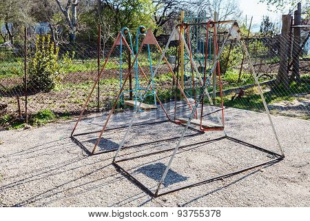 Old Model Of Swing Playground