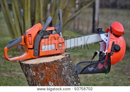 Equipment Woodcutter, South Bohemia