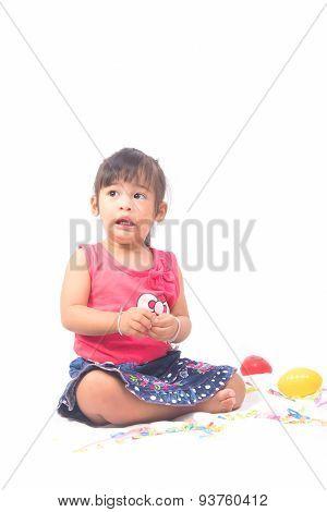 A Fearful Little Baby Girl