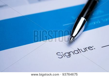 Agreement - Signing A Contract