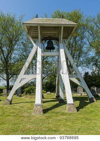 Bells, Klokkenstoel In Mirns In Friesland