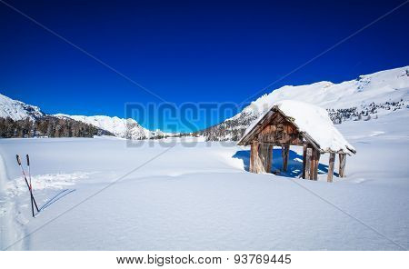 South Tyrol winter