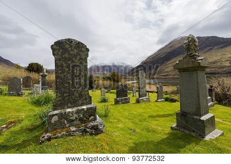 Graveyard In Ault A Gruinn