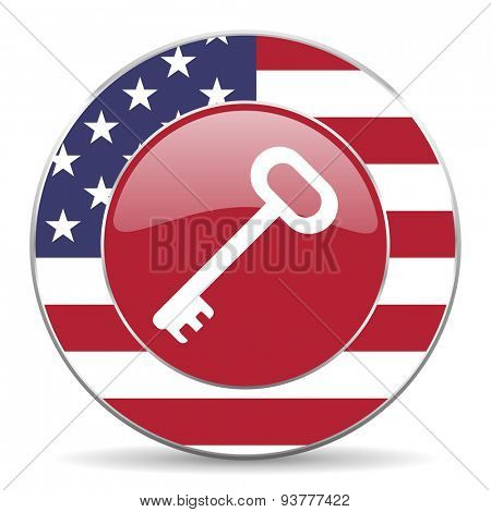 key original american design modern icon for web and mobile app on white background