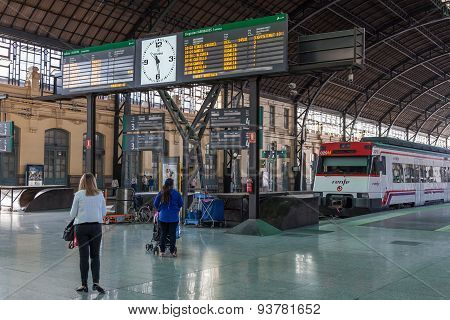Valencia Train Station