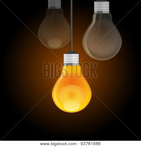 idea compete best bulb shine light in dark