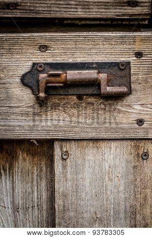 Old rusty lock