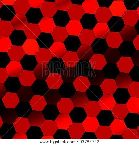 Black red abstract digital background. Technology texture. Beautiful, simple picture with nobody.