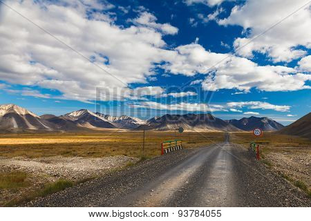 Road in Tundra