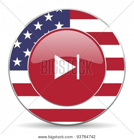 next american icon original modern design for web and mobile app on white background