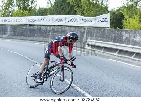 The Cyclist Peter Stetina - Tour De France 2014