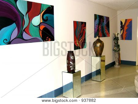 Artworks at Gallery