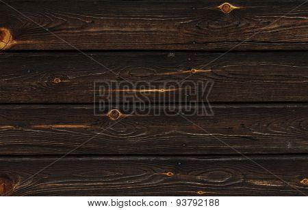 Dark Brown Wooden Wall