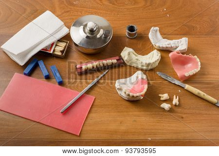 Place Of Work Of The Dental Technician