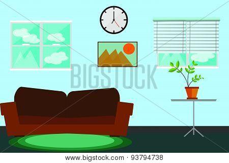 Interiors room