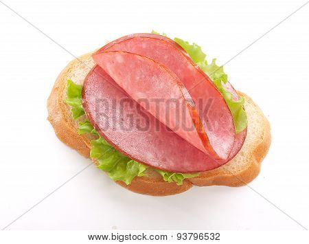 Sandwich With Sausage
