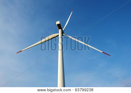 Wind Generator In The Field