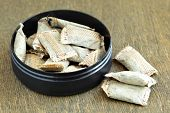 picture of snuff  - Bunch of swedish snus - JPG