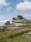 picture of minion  - the Cheesewring stones on Bodmin moor near the minnions - JPG