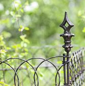 pic of wrought iron  - Close - JPG
