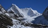 picture of cho-cho  - Kangchung Peak and glacier - JPG
