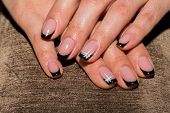 picture of  art  - Beautiful manicure nails - JPG