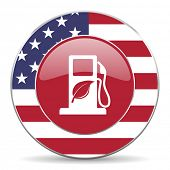 stock photo of ethanol  - biofuel original american design modern icon for web and mobile app on white background - JPG
