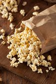 picture of kettles  - Homemade Kettle Corn Popcorn in a Bag - JPG