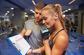 stock photo of clipboard  - fitness - JPG