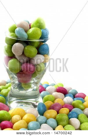 Candy In A Glass