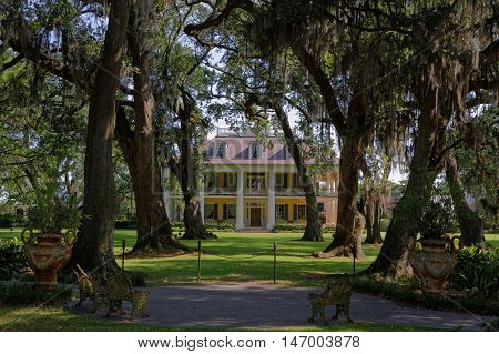 Burnside, Louisiana, May 4, 2015 :the Houmas, Also Known As Burnside Plantation And Currently Known