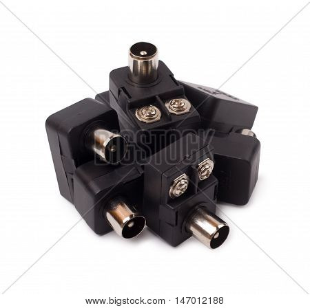 The antenna plugs isolated d d d