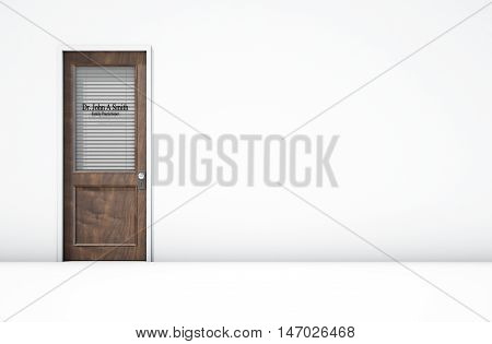 Door In Doctors Room