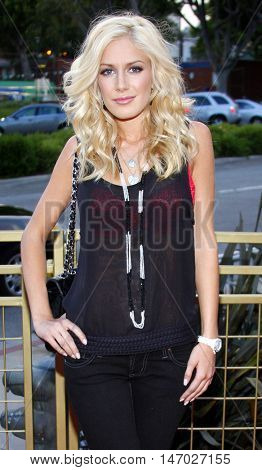 Heidi Montag at the LG Electronics' (LG) Launch of the