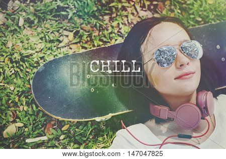 Chill Break Recess Rest Relaxation Cessation Concept