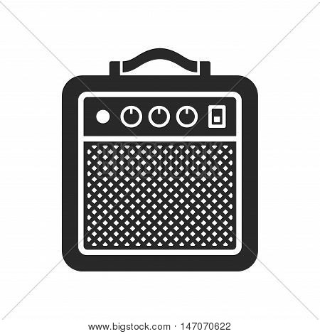 Amplifier Icon on White Background. Vector illustration
