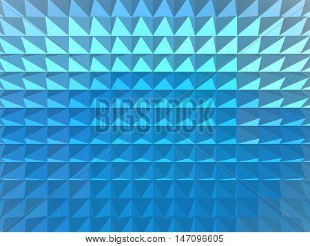 Minimalism texture in the form of squares background wallpaper style form pyramid view Illustration