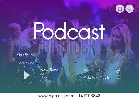 Entertainment Multimedia Audio Radio Concept