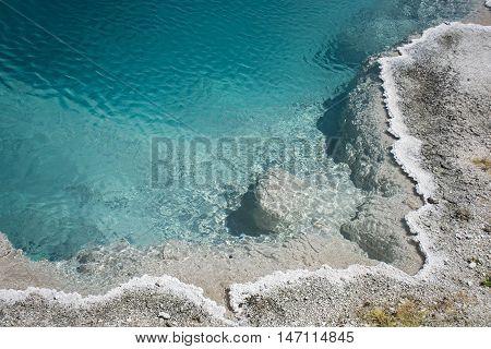 Black Pool Shore
