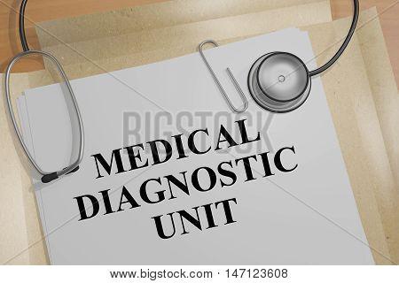 Medical Diagnostic Unit Concept