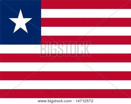Liberia National Flag