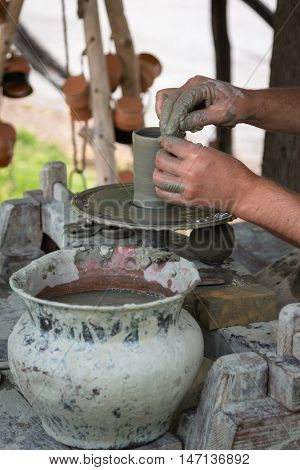 Craftsman Hand and Equipment: Working Clay and Terracotta