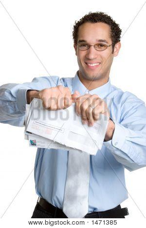 Business Man Bills