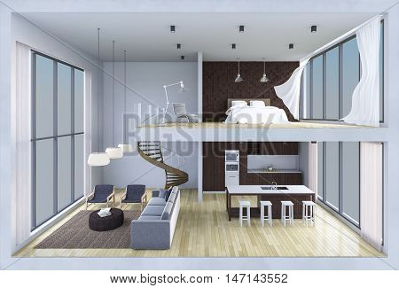 3D Living Box