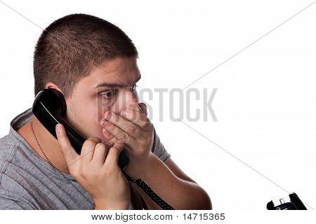 Upsetting Phone Call