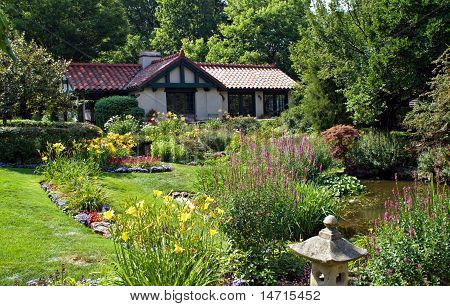 Cottage with Gardens
