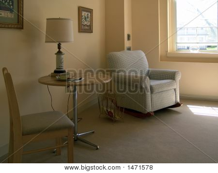 Sitting Area In Sunlight
