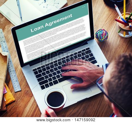 Loan Agreement Budget Capital Credit Borrow Concept