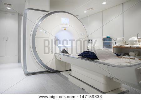 MRI Machine In Hospital Room