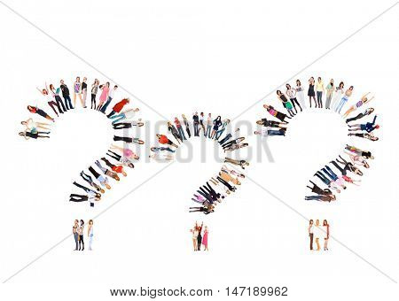 Corporate Teamwork Workforce Concept
